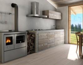 Cucine Combinate Legna Gas. Lincar Stufe A Pellet. Serie R. Cucina ...