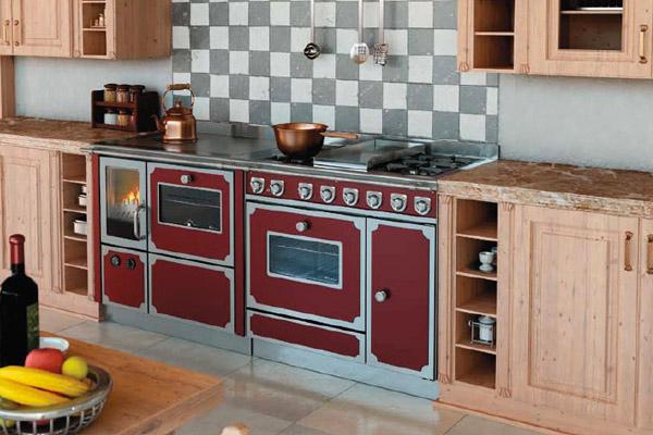 Cucine a legna su misura for Cucina economica zoppas