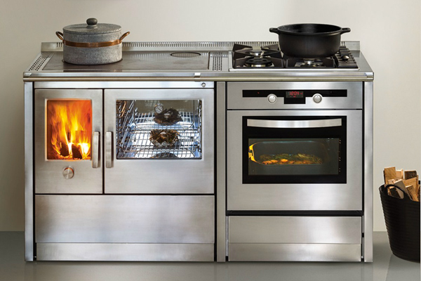 Cucine monoblocco a gas, legna, elettricità