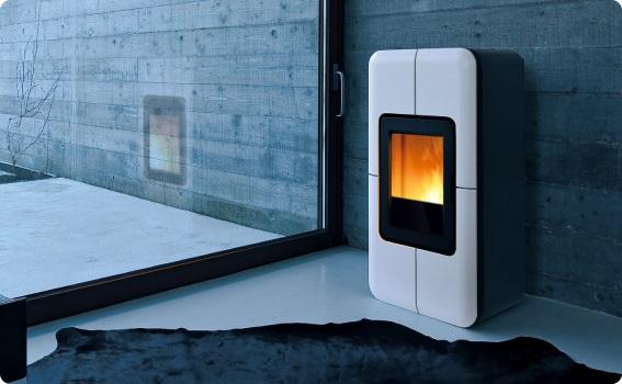 Stufe ad aria ventilata - Stufe a pellet design ...