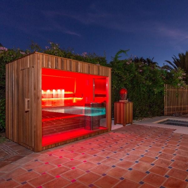 Saune da giardino